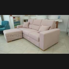 Sofá de 3 plazas + puff...
