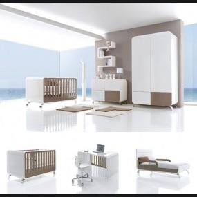 Dormitorio de bebé modelo...