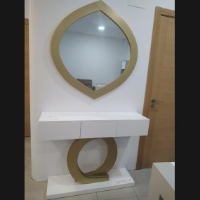 Consola con espejo modelo...