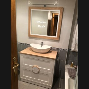 Mueble de baño modelo TBA0012