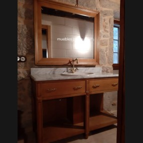 Mueble de baño modelo TBA0003