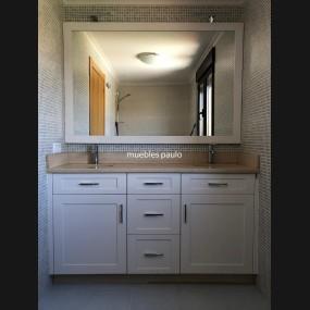 Mueble de baño modelo TBA0004
