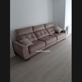 Sofa 3 plazas modelo Leon...